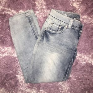 High water jeans